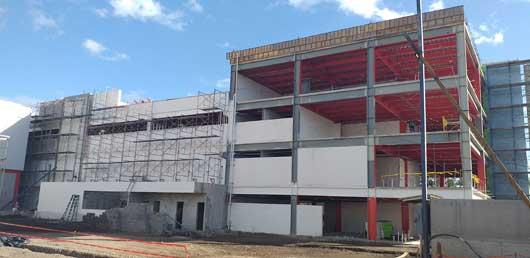 Una obra gris en construcción