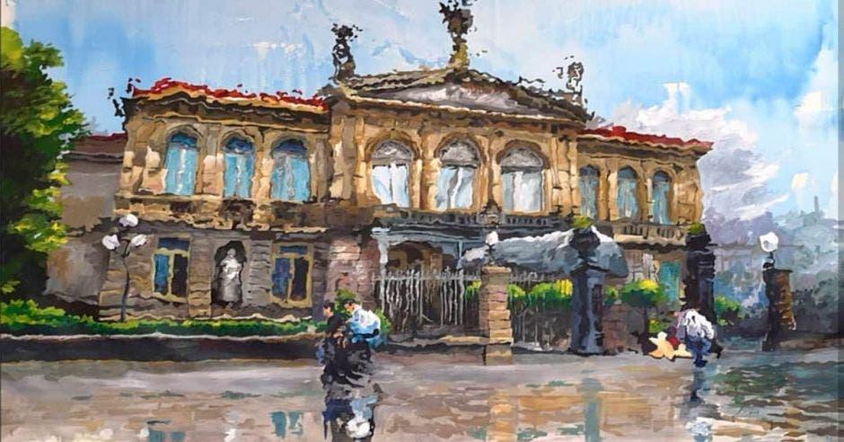 Teatro Nacional, obra de Osvaldo Sequeira