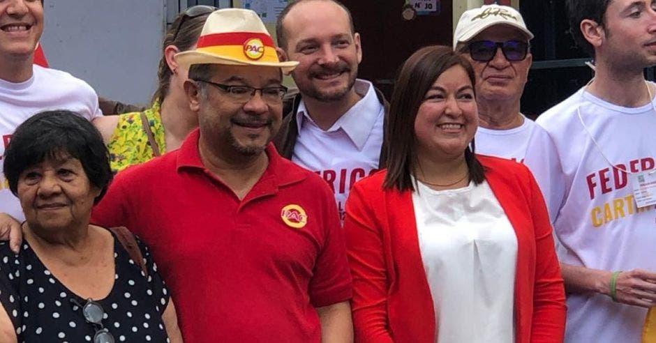 Anthony Cascante, secretario del PAC. Esteban Arrieta/La República.