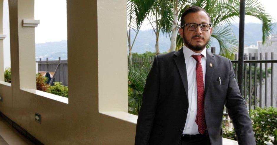 Enrique Sánchez Carballo, diputado del PAC. Archivo/La República.