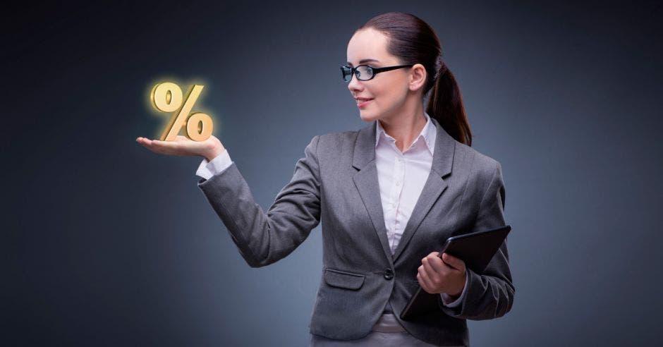 Porcentaje, mujer