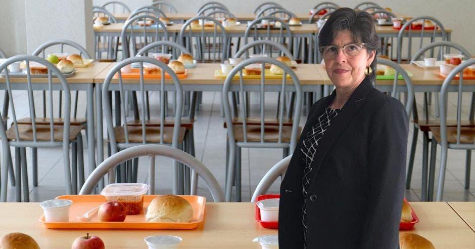 Norma Meza, presidenta del Colegio de Profesionales en Nutrición