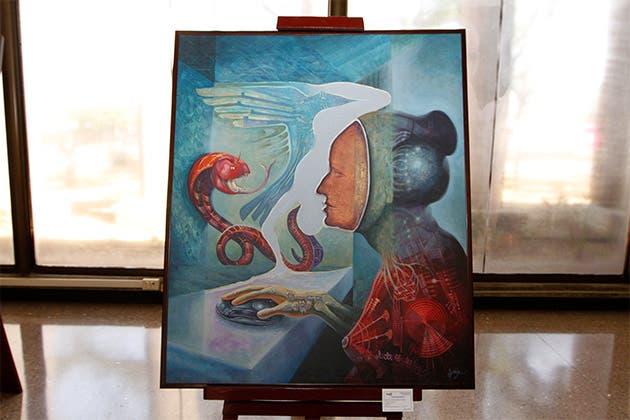 """Obra """"Fascinación"""" de José Gerardo Hidalgo"""