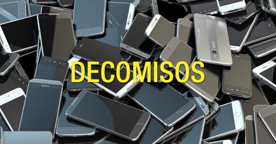 Decomiso celulares