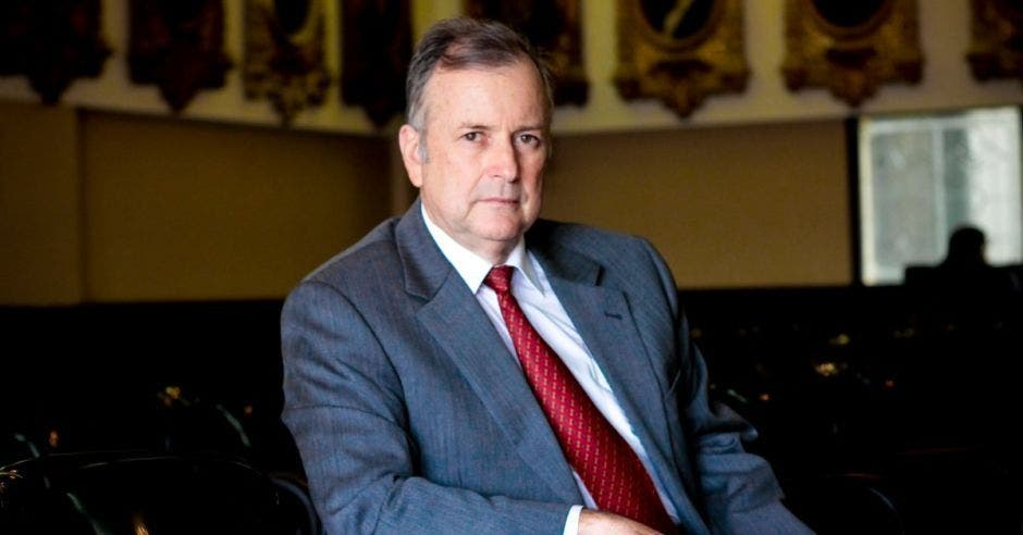 Ottón Solís, excandidato presidencial. Archivo/La República.