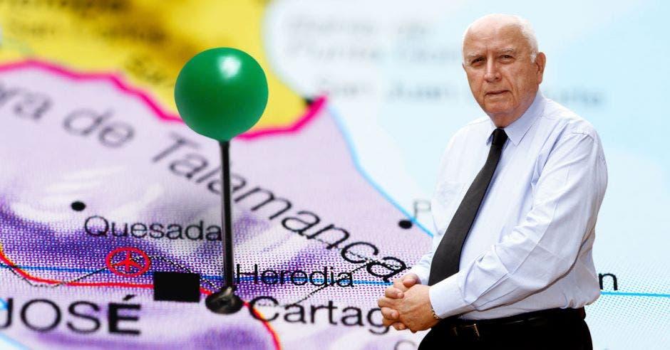 Despejar la entrada a Heredia es uno de los nudos que pretende desenredar Rodolfo Méndez, ministro de Obras Públicas, en alianza con la municipalidad del cantón central.