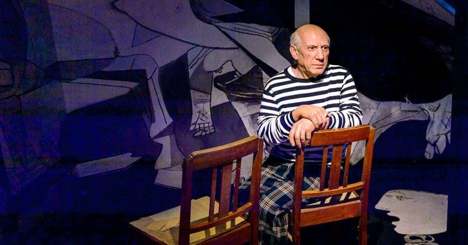 Figura de cera de Pablo Picasso