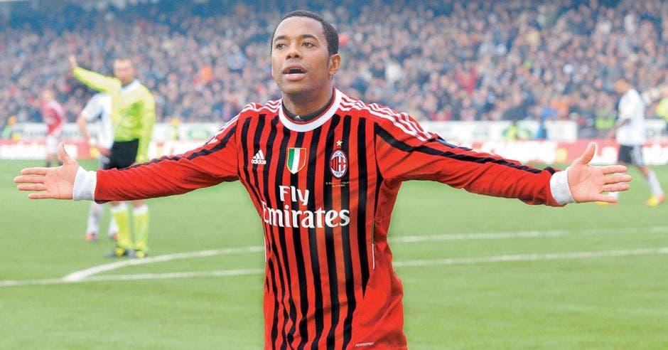 Robson de Souza, más conocido como Robinho, es un futbolista brasileño