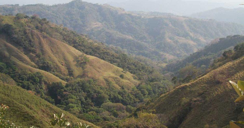 Vista panorámica de las tierras en Térraba