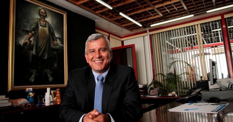 Víctor Morales, ministro de la presidencia. Archivo/La República.