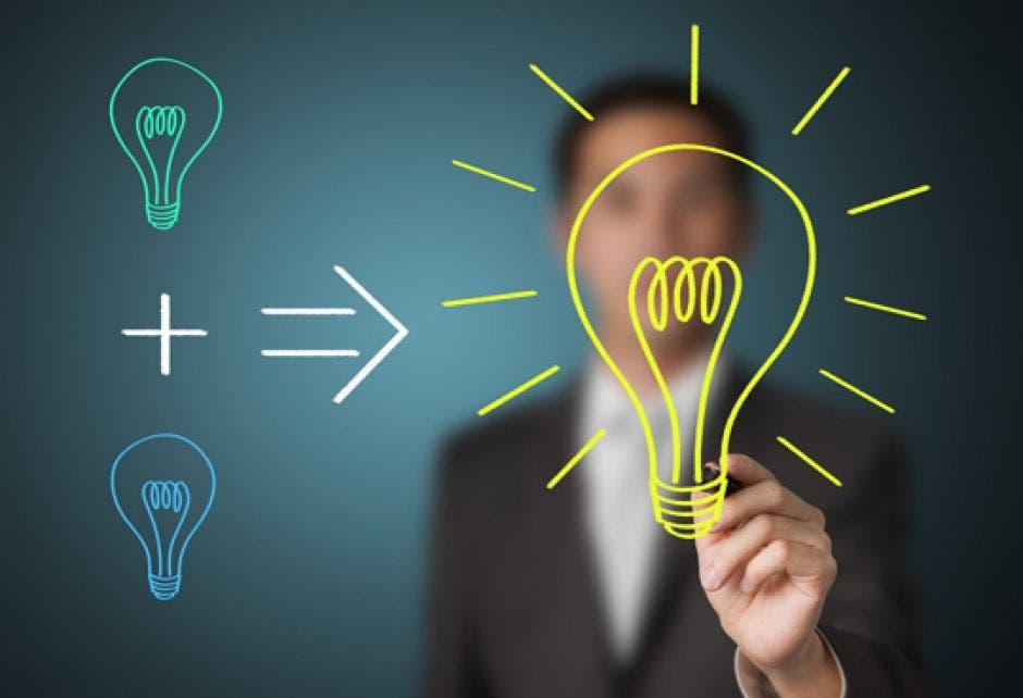 Una persona con ideas
