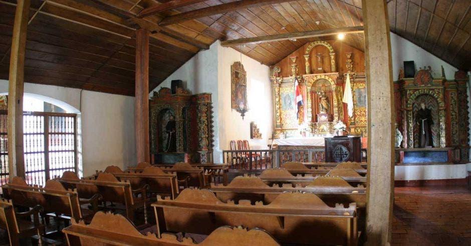Una iglesia vacía