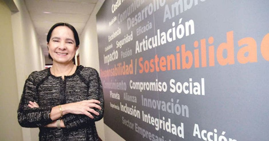 Silvia Lara, ministra de la presidencia interina. Archivo/La República.