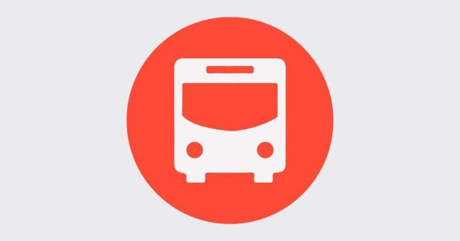 Un símbolo de un autobús