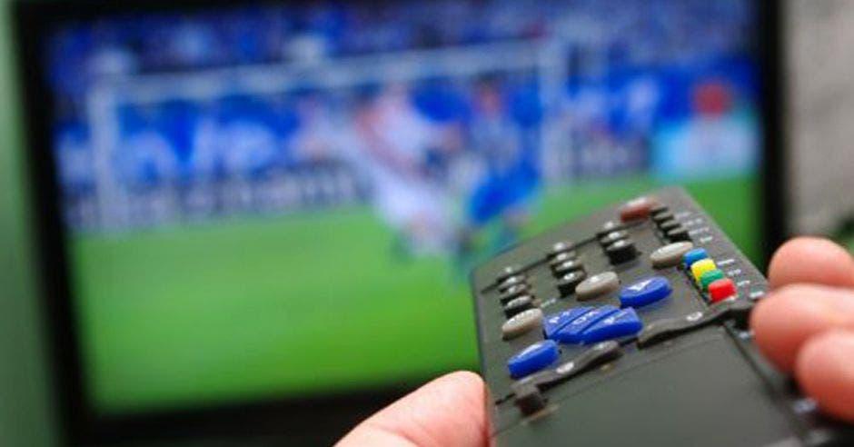 control remoto y tele