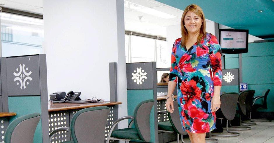 Alexandra Márquez-Massino es la gerente de Coope Ande