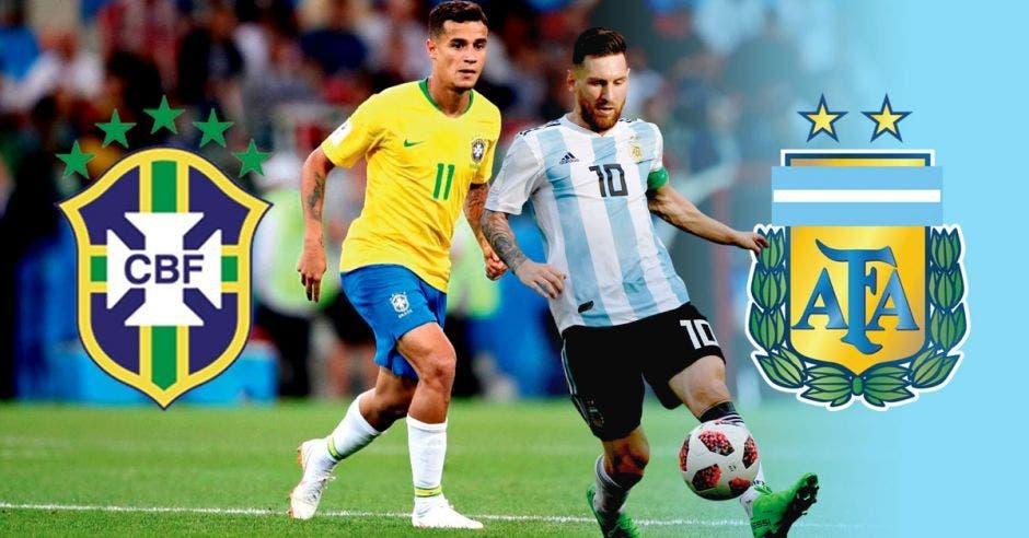 brasil y messi