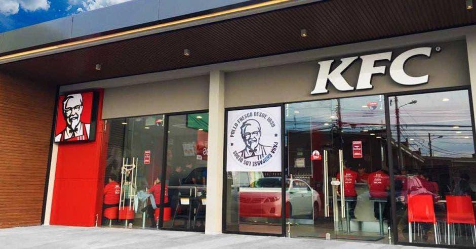 restaurante KFCc