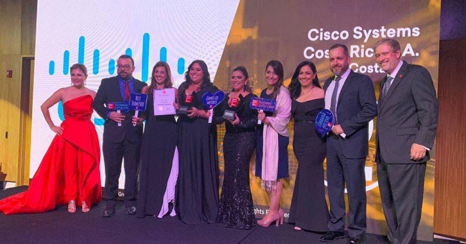 Cisco en la premiación