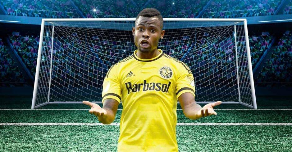 Waylon Francis fue a Brasil 14, proveniente de la MLS