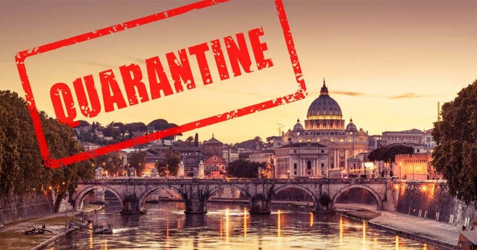Italia en cuarentena