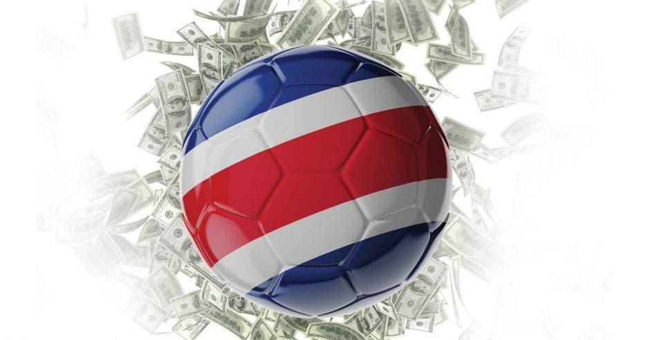 bola y dinero