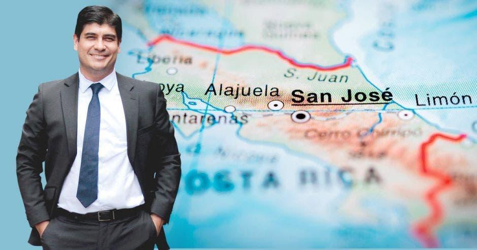 Carlos Alvarado, presidente de Costa Rica. Archivo/La República.