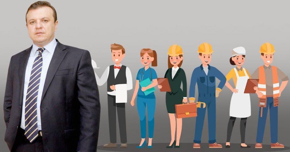Alonso Elizondo, director ejecutivo de la Cámara de Comercio, ve una situación difícil para la inversión y generación de empleo. Archivo/La República.