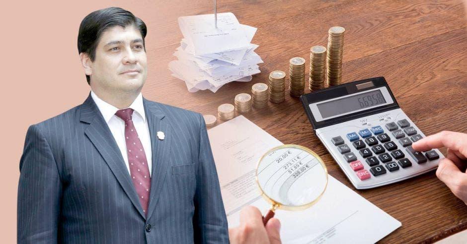 El Presidente Carlos Alvarado desautorizó el plan de Rodrigo Chaves. Xinhua-Shutterstock/La República.