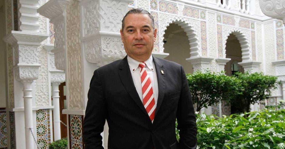 Roberto Thompson, diputado de LIberación. Archivo/La República