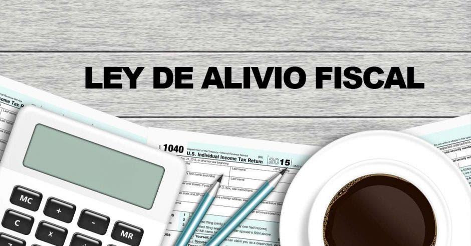 ley de alivio fiscal calculadora y lapiceros