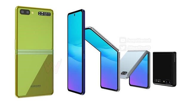 Samsung Galaxy Z Flip. Imagen digital. Leaderyou. 1/1/2020