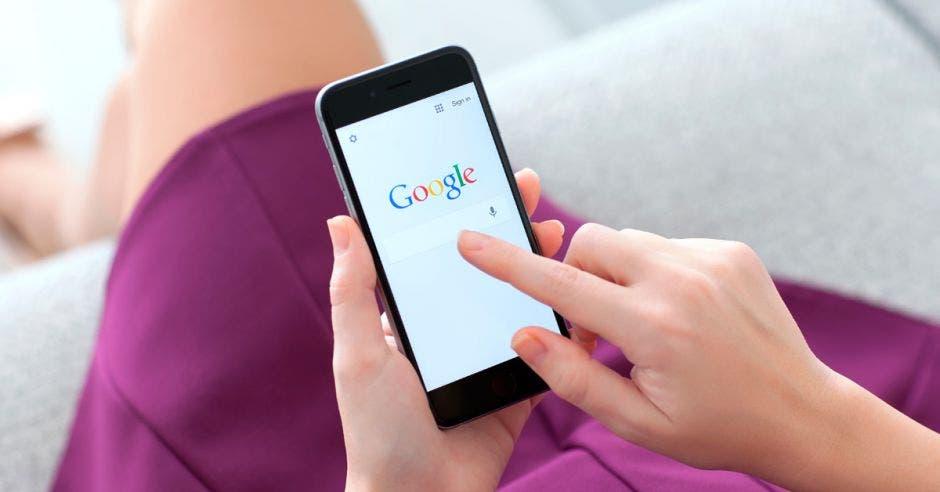 Smartphone con Google