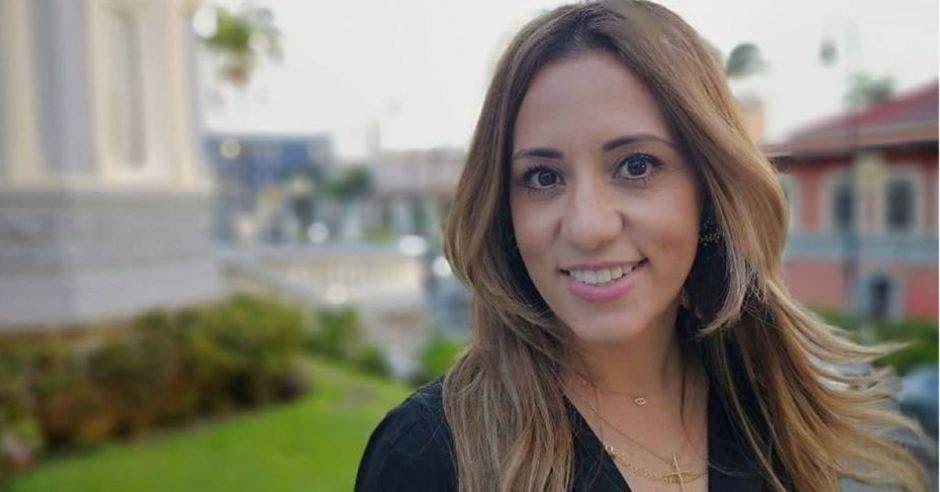 Karine Niño, diputada de Liberación Nacional. Archivo/La República.