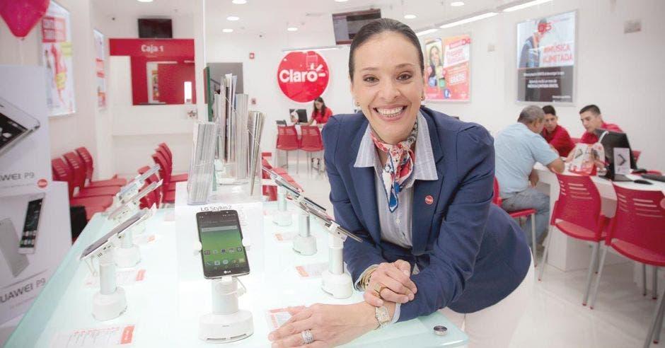 Carolina Sánchez vocera de Claro