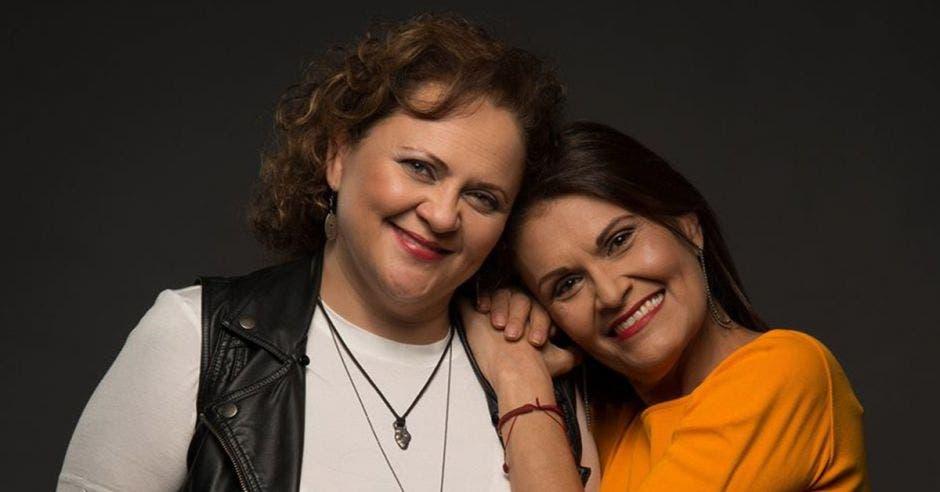 Marcia Saborío y María Torres