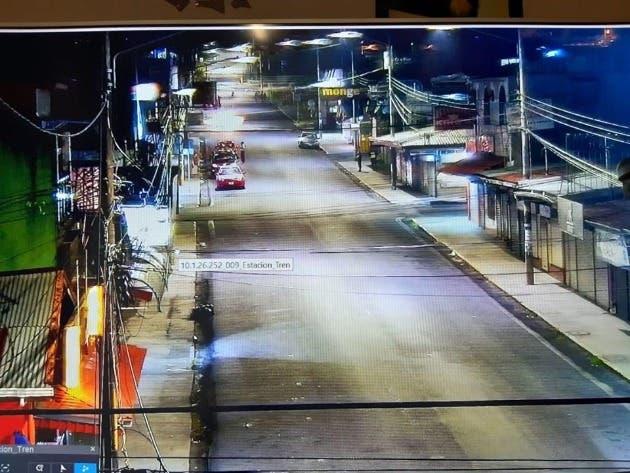 Una calle desolada