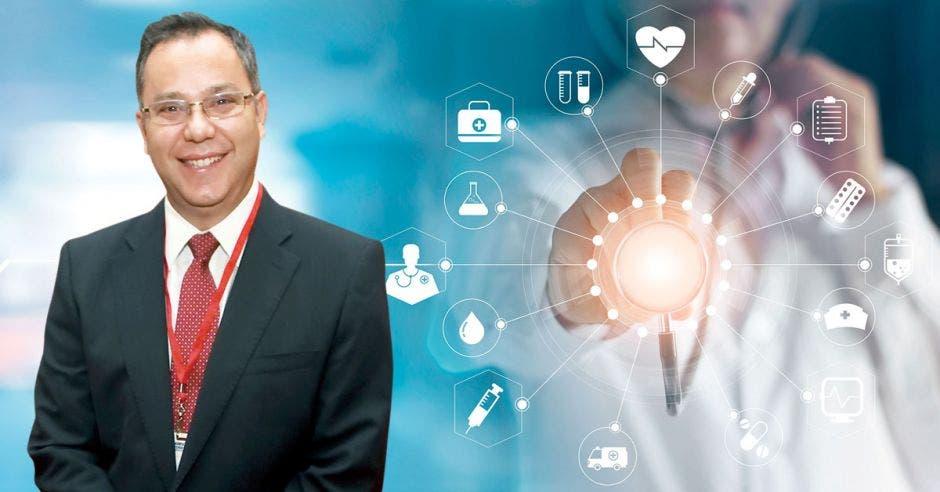 """""""Como líderes en exportación de dispositivos médicos estamos comprometidos con Costa Rica y con las autoridades del sector salud"""", dijo Carlos Wong, Director de Coyol Free Zone (CFZ). Archivo-Cortesía/La República."""