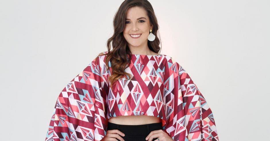 Vanessa Chacón diseñadora nacional