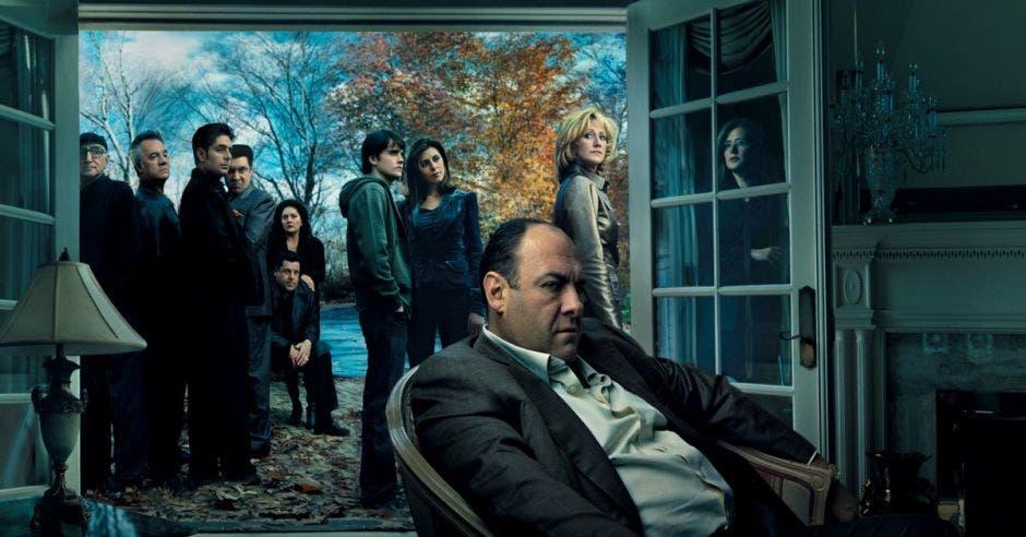 Póster de Los Sopranos