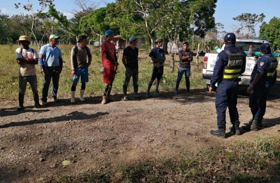 Personas detenidas en operativo en frontera norte