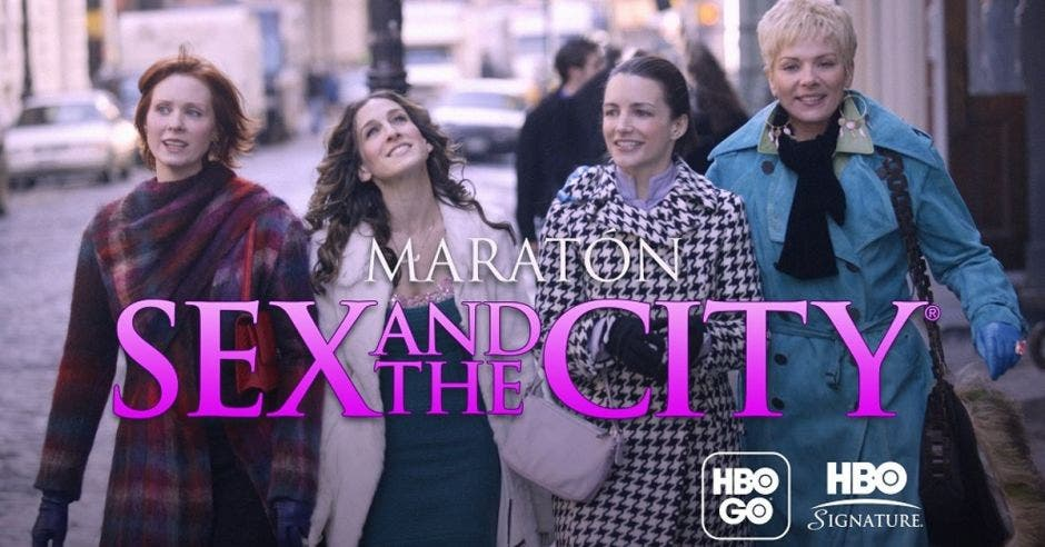 Protagonistas de Sex and the City