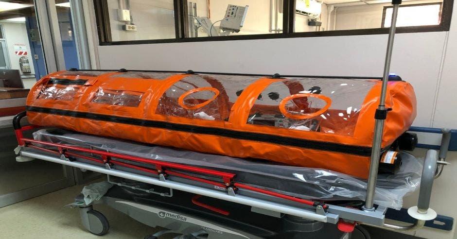 Una cama del centro especializado