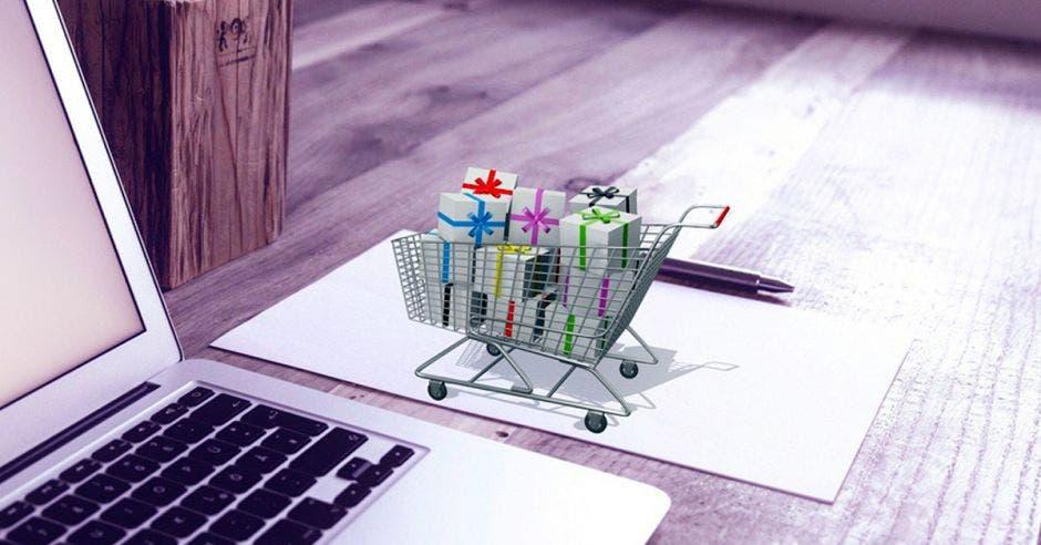 Imagen que representa el comercio electrónico
