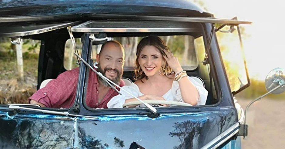 Natalia Monge y Bernardo Quesada