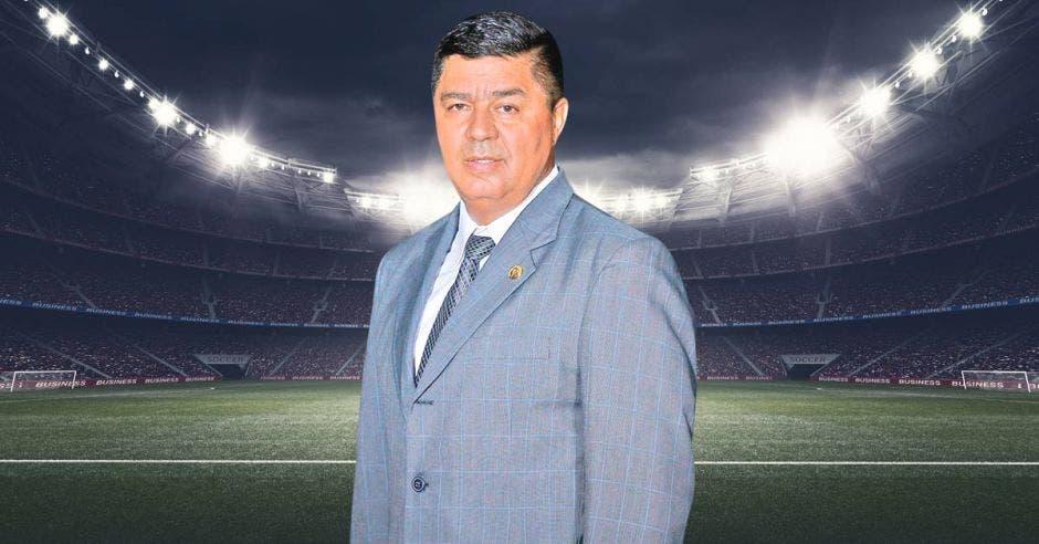 Víctor Hugo Alfaro, vicepresidente de la Federación de Fútbol
