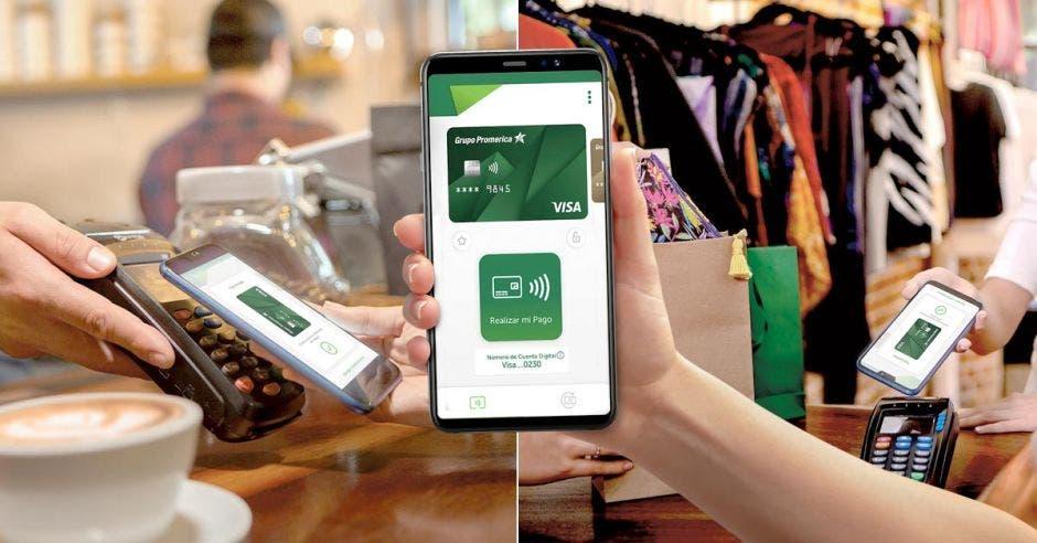 Con la introducción al mercado de Promerica Pay, el banco quiere promover la adopción de las nuevas tecnologías que están marcando las tendencias del sector financiero. Cortesía/La República.
