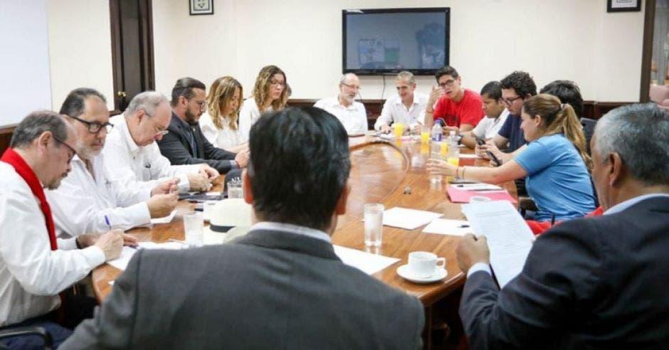 Reunión del gobierno