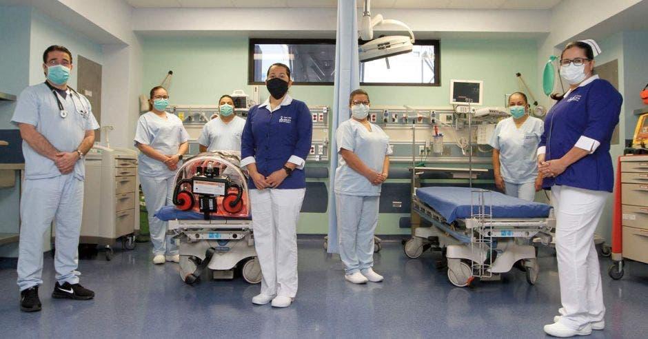 Área de Emergencias del Hospital Clínica Bíblica