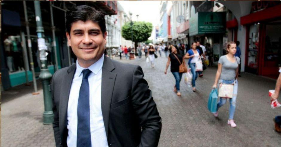 Carlos Alvarado. Archivo/La República